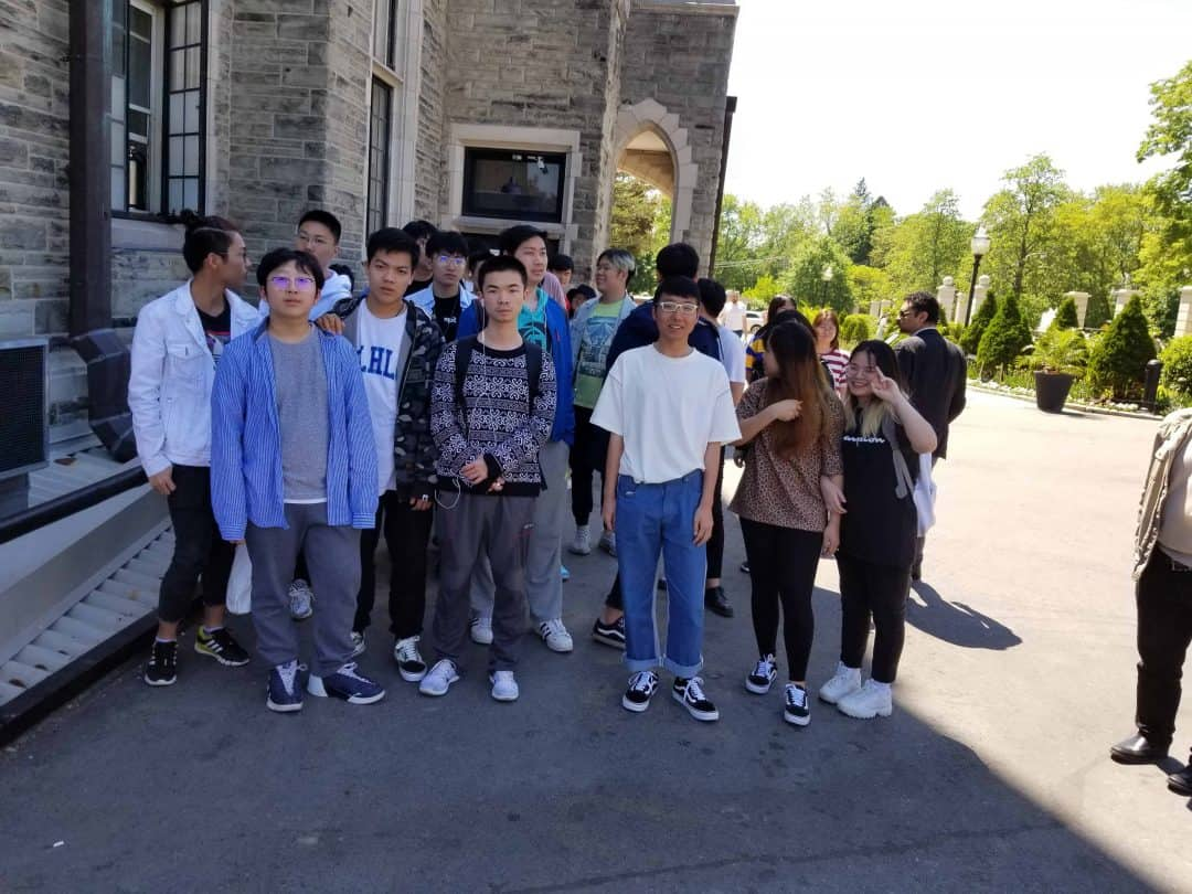 June 7 (Friday) Field Trip to Casaloma