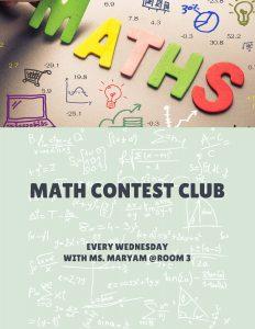 Math Contest Club