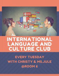 International Language and Culture Club