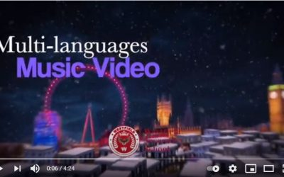"Multi Languages Music Video, ""Last Christmas"" by Westfield Culture Club"